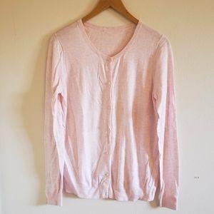 Baby pink thin cardigan